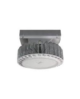 MXMLLHP150USD12/W 150W DLC Rated LED Round Pendant High Bay Fixture 5000K 16,640 Lumens Wide Beam Angle