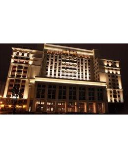 MXAFD110U641KLBSS  114W 400W EQ Metal-Halide LED Architectural Flood Light 4100K 12010 Lumens