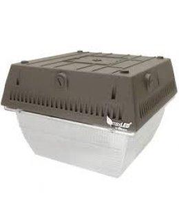MXCAN45U50B Maxlite 44W LED Canopy Fixture 4435 Lumens 5000K DLC Rated