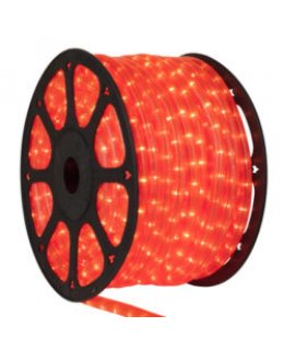 CLU17368 CHASING Incandescent Fluorescent Pink Rope Light, 150 ft, 3 Wire, 120 Volt