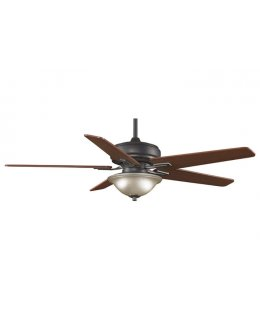 "Fanimation Keistone Series Model # FPD8089BA 72"" Bronze-Cherry Walnut Blades Ceiling Fan DRY LOCATION"