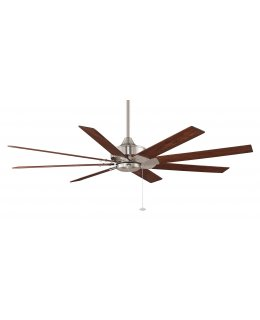 "Fanimation Levon Series Model # FP7910BN 63"" Brushed Nickel Ceiling Fan DRY LOCATION"