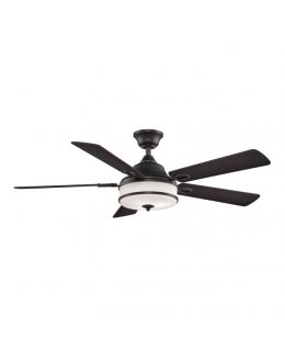 "Fanimation Stafford Series Model # PL8274DZ 52"" Dark Bronze Ceiling Fan DRY LOCATION"