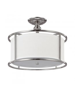 Capital Lighting 3914PN-459 Midtown Semi-Flush Ceiling Fixture