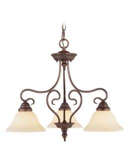 Livex LIV-6133-58 Coronado 3 Light Pendant