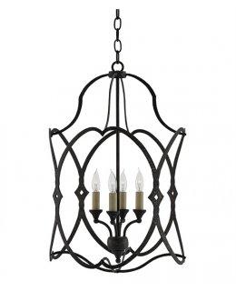 Currey & Company 9000-0024-CC 24 Inch Charisma Lantern Chandelier