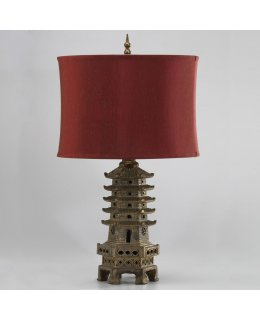 Cyan Designs CY-02575  Pagoda Table Lamp