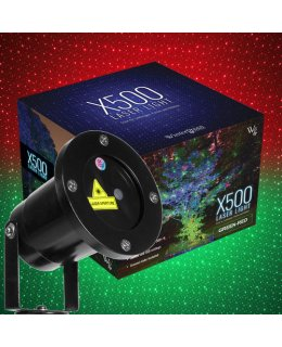 CLU73383 Green - Red X1000 Laser Light Displays up to 300 Ft