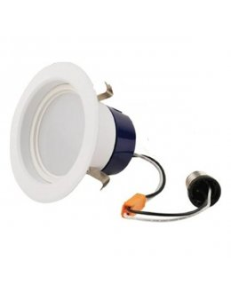 "GEL-LED4RL-65L830  80CRI ( PACK OF 10 ) 4"" Downlight DIM Retrofit 9W LED 60W EQ 3000K Cool White 650 Lumens"