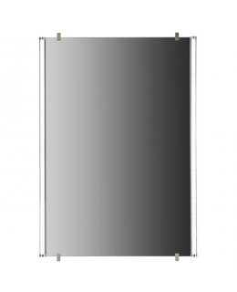 Tech Lighting Model 700BCRAEMRR6SS-LED835 Rae 26 Inch Wide Single Mirror with Light 3500K Satin Nickel Finish