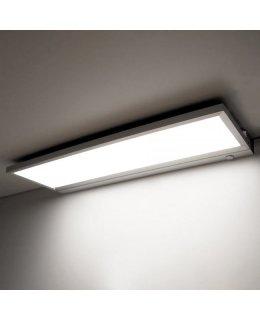 Wac Lighting Model LN-LED24-30-AL LINE LED Edge Task Light Fixture Brushed Aluminum-White Finish