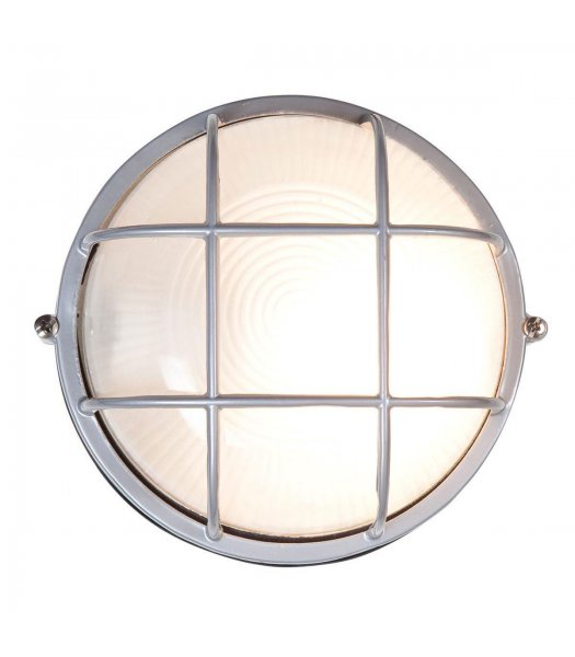Access 20294-SAT-FST Nauticus 7 Inch Round Outdoor Wall Light
