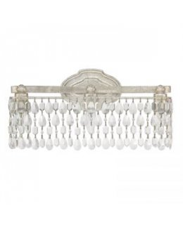 Capital Lighting 8528AS-CR  Blakely Crystal Vanity Light