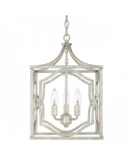 Capital Lighting 9481AS Blakely 3 Light Foyer Pendant