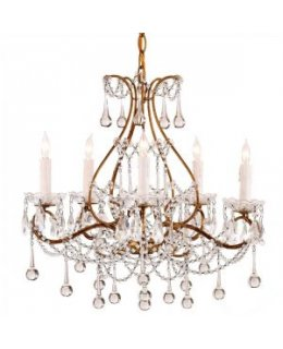 Currey & Company 9008-CC Paramour Chandelier