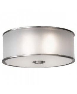 Feiss FM291BS Casual Luxury Semi Flush Ceiling Light