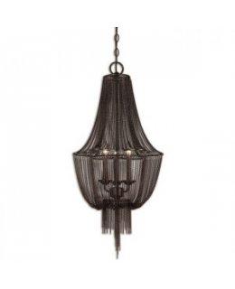Uttermost 21998 Lezzeno 3 Light Chandelier