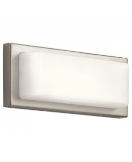 Elan Lighting Model  ELA-83895 Kelsi LED Wall Scone Light Fixture Brushed Nickel Finish