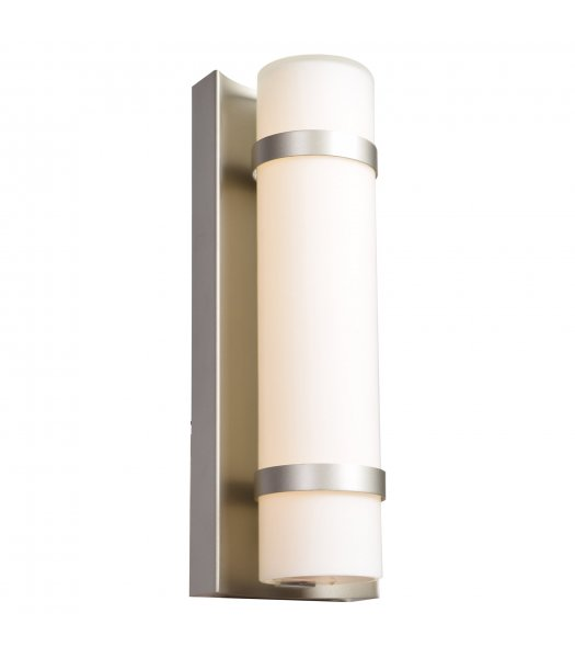 Access 20067LEDD-BS-OPL Cilindro Outdoor Wall Light