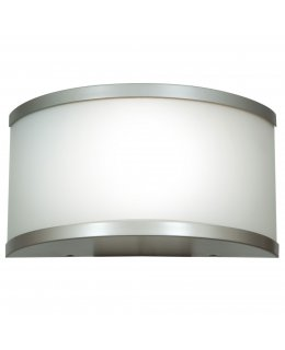 Access Lighting Model 20397-SAT-OPL 180 Outdoor Wall Sconce Light Fixture Satin-Opal Finish