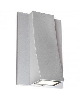 Access Lighting Model 23062LEDMG-SAT-CLR Archer Wet Location Outdoor Wall Sconce Light Fixture Satin Finish