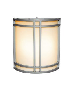 Access Lighting Model 20362-SAT-OPL Artemis Outdoor Wall Wash Light Fixture Satin-Opal Finish