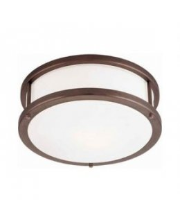 Access 50079-BRZ-OPL Conga 12 Inch Flush Ceiling Mount