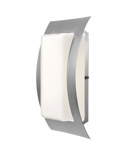 Access Lighting Model 20449-SAT-OPL Eclipse Outdoor Wall Sconce Light Fixture Satin-Opal Finish