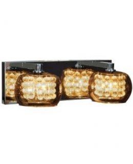 Access 52112-CH-MIR Glam 2 Vanity Light