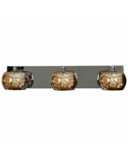 Access 52113-CH-MIR  Glam 3 Vanity Light