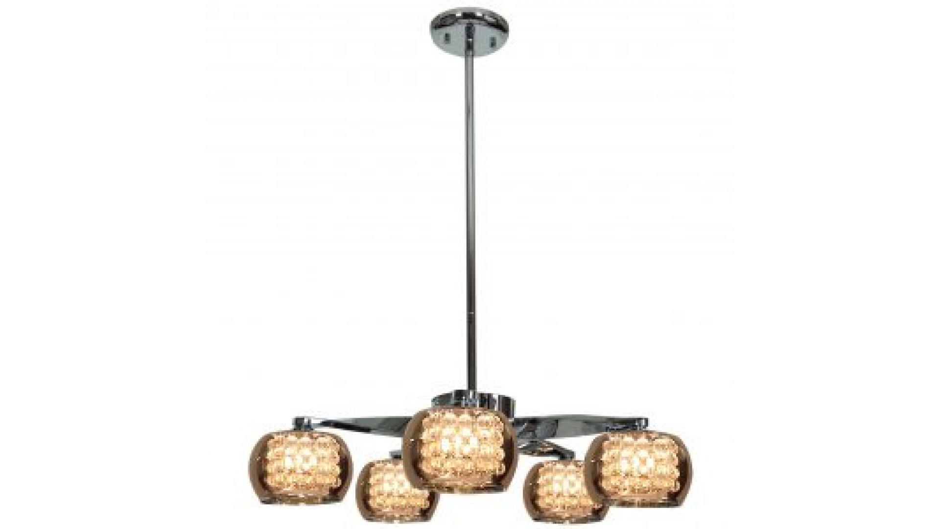 glam lighting. Access Lighting Model 52120LEDD-CH/MIR Glam LED Chandelier Chrome-Mirror  Finish Glam Lighting