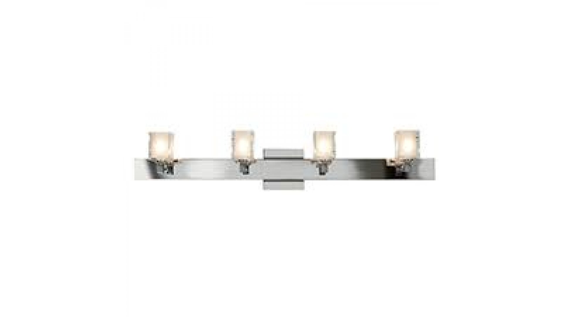 Access Lighting Model 23918 Ch Fcl Glase Square Crystal Vanity 4