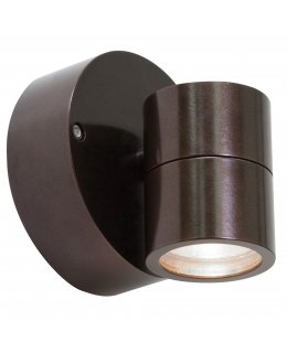 Access 20350MG-BRZ-CLR  KO 50 Outdoor Wall Spot Light