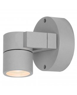 Access 20351MG-SAT-CLR  KO 51 Adjustable Outdoor Wall Spot Light Fixture Satin Finish