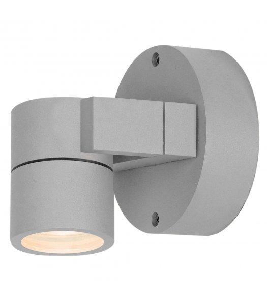 Access 20351MG-SAT-CLR  KO 51 Adjustable Outdoor Wall Spot Light Fixture Satin Finish