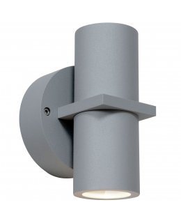 Access 20352LEDDMGLP-SAT-CLR  KO 52 LED Dual Spot Outdoor Wall Light
