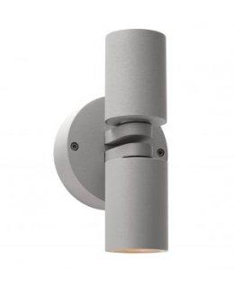 Access 20352LEDDMGLP-SAT-CLR  LED KO Dual Spot Wall light