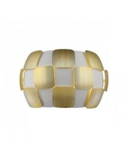 Access 50907-WH-GLD  Layers Wall Light