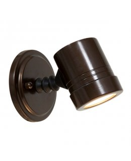 Access Lighting Model 23025MG-BRZ-CLR Myra Adjustable Outdoor Wall Sconce Light Fixture Bronze Finish