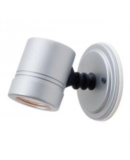 Access Lighting Model 23025MG-SILV-CLR Myra Adjustable Outdoor Wall Sconce Light Fixture Silver Finish