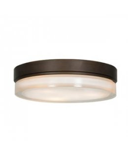 Access 20775LEDD-BRZ-OPL  Solid 9 Inch LED Flush Ceiling Mount