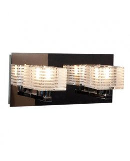 Access Model 62281-CH-CLFR  Sophie Vanity 2 Light Fixture Chrome Finish