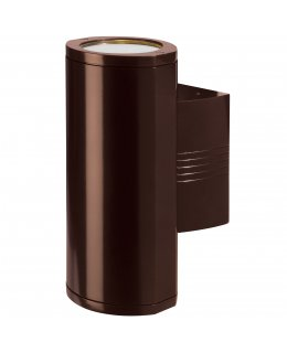 Access 20389LEDDMGLP-BRZ-CLR  Trident LED Outdoor Wall Washer Bronze