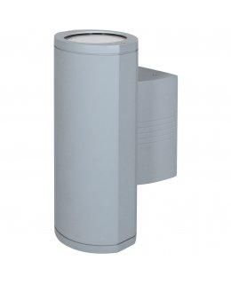Access Lighting Model 20389MG-SAT-CLR Trident Outdoor Wall Wash Light Fixture Satin Finish