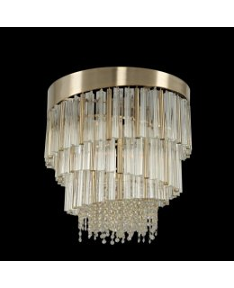 Allegri 029850-038-FR001 Espirali Semi Flush Mount Ceiling Light