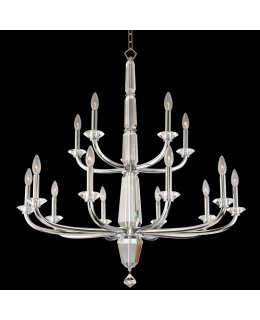 Allegri 031353-010-FR001  Palermo Two Tier 36 Inch Chandelier
