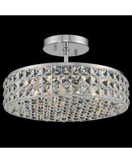 Allegri 032840FR001 Loro 13 Inch Semi Flush Mount Ceiling Light
