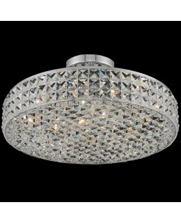 Allegri 032841FR001 Loro 16 Inch Semi Flush Mount Ceiling Light
