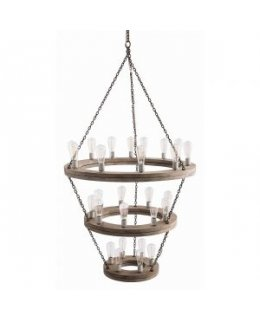 Arteriors Home AH-84173 Geoffrey Three Tier Chandelier