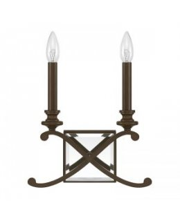 Capital Lighting 8062BB Alexander 2 Light Wall Sconce